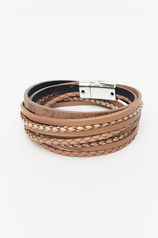 Natural Maia Wrap Bracelet