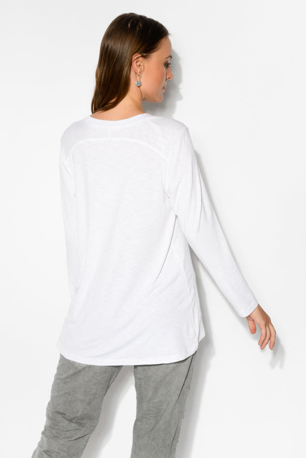 White Optic Swing Tee