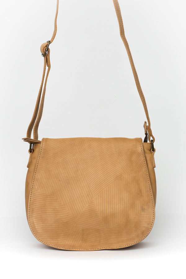 Gina Tan Leather Bag - Blue Bungalow