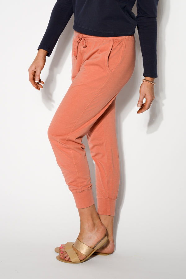 Copper Cotton Washed Out Pant - Blue Bungalow