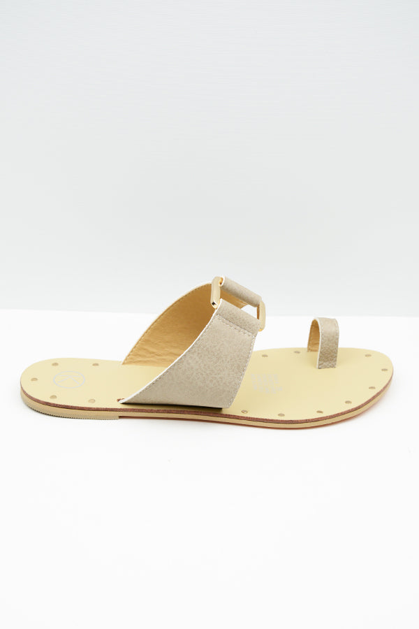 Taupe Sarsh Sandals