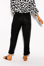 Black Lyocell Crochet Pant - Blue Bungalow