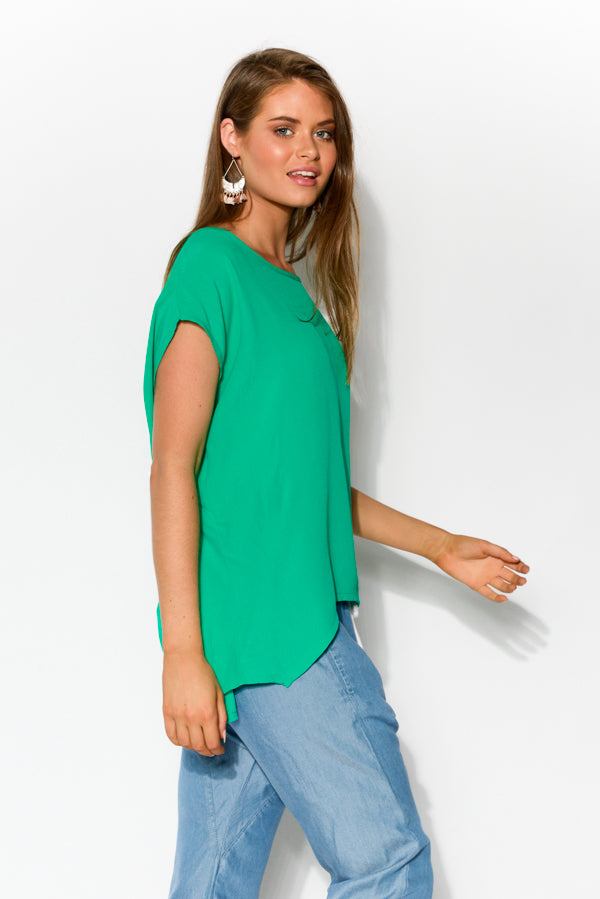 Green Shell Top