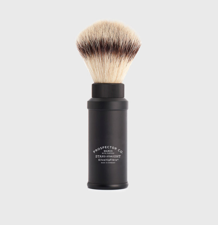 Travel Shaving Brush SilvertipFibre