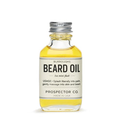 Burroughs Beard Oil