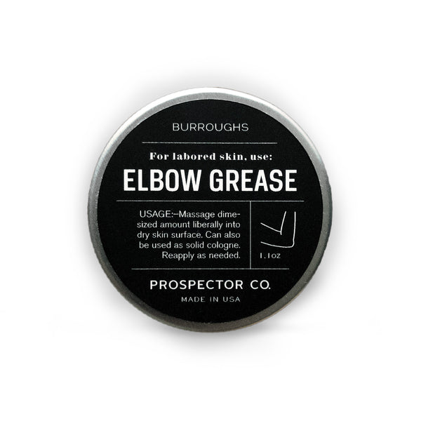 Burroughs Elbow Grease