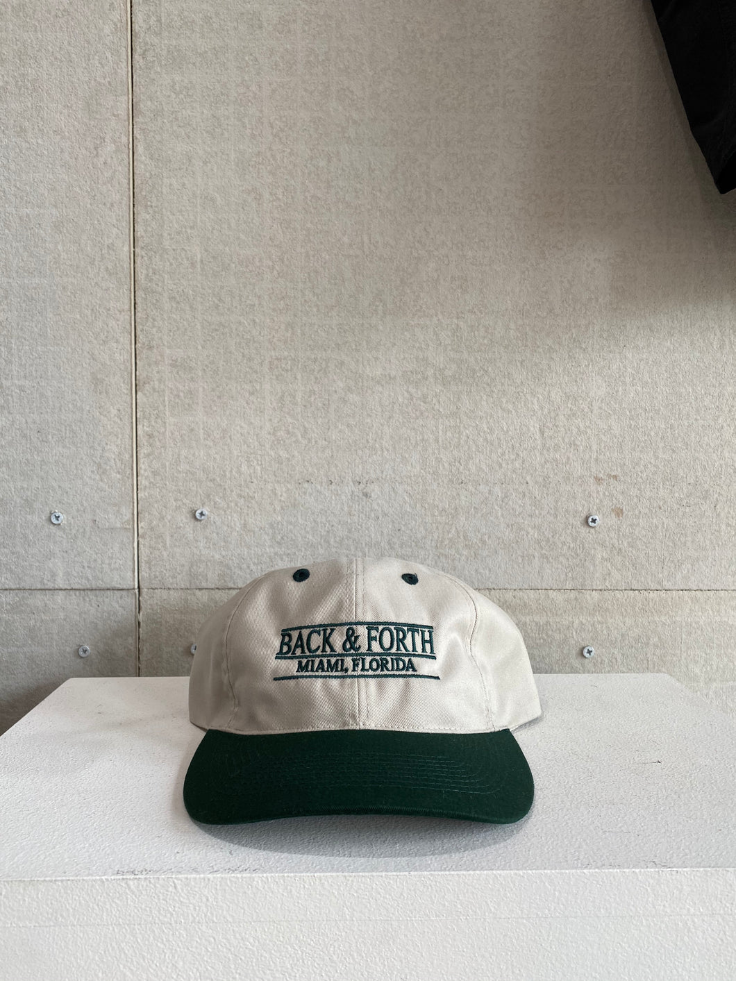 Collegiate Bar Hat