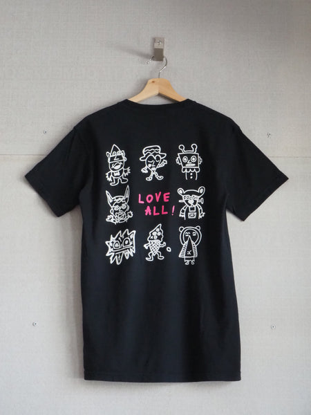 Flower Nose and Friends Tee
