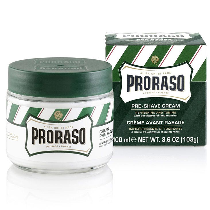 Proraso - Crema Pre Barba Rinfrescante (Green) 100ml - mike-barbershop