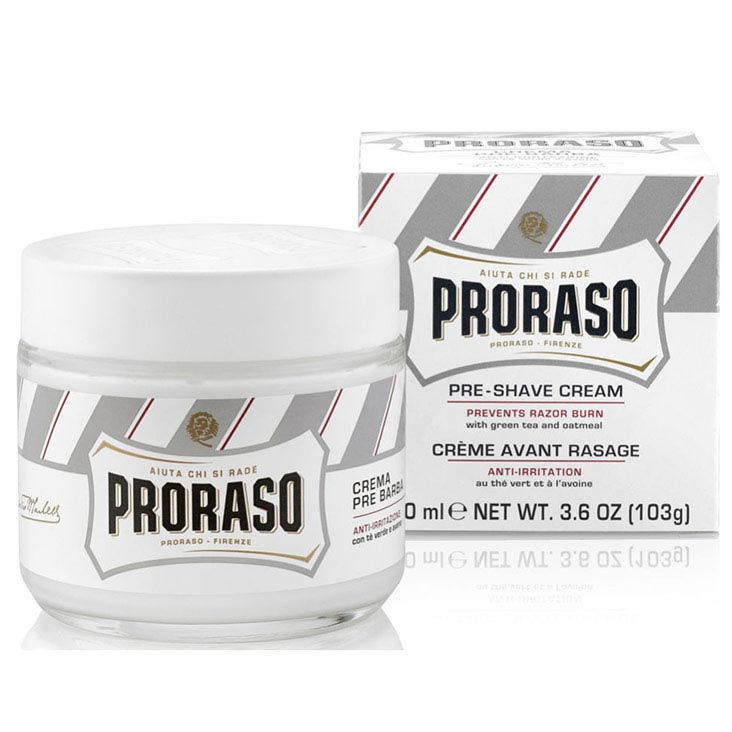 Proraso - Crema Pre Rasatura - Anti-Irritazione (White)- 100 ml - mike-barbershop
