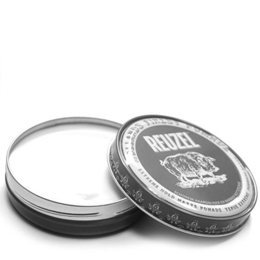 Reuzel Grigia - Grey Extreme Hold Matt Pomade 113g - mike-barbershop