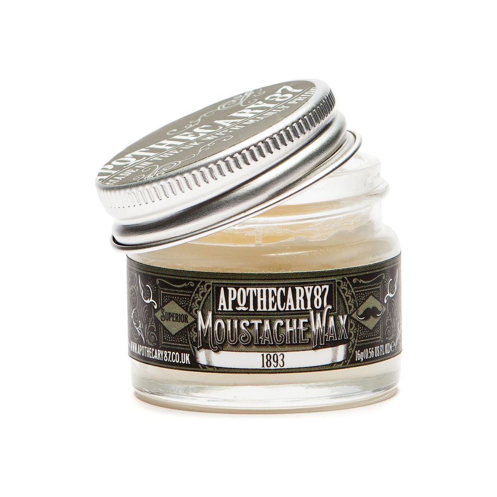 Apothecary 87 - Moustache Wax 1893 - mike-barbershop