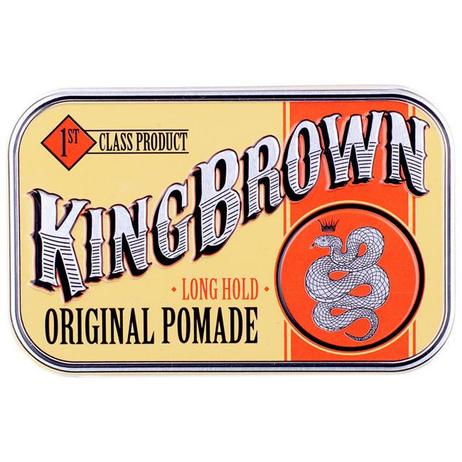 King Brown - Original Pomade - mike-barbershop