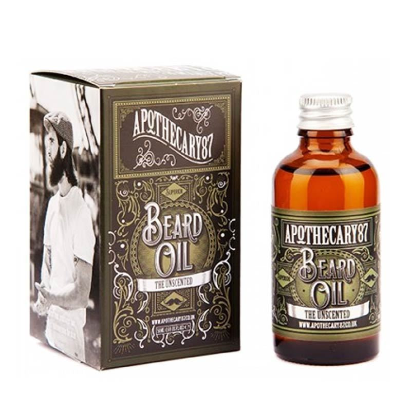 Apothecary87 - Beard Oil The Unscented - mike-barbershop