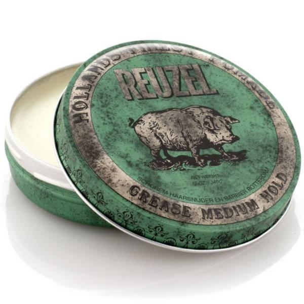 Reuzel Verde - Green Pomade Medium 113g - mike-barbershop