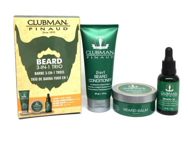 Clubman Pinaud - Beard Trio Kit da Barba - mike-barbershop
