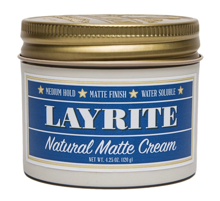 Layrite - Natural Matte Cream Hair Pomade - mike-barbershop