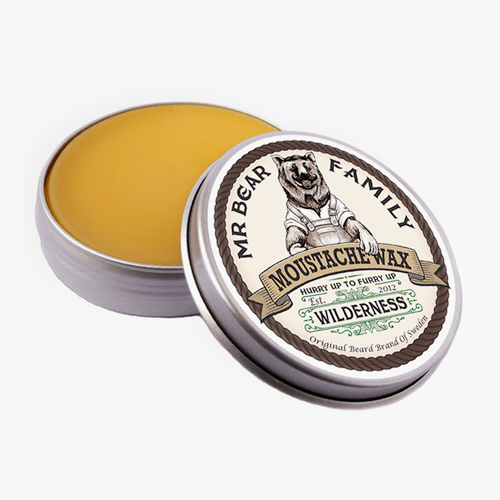 Mr Bear Wilderness - Beard Stache- Moustache wax - mike-barbershop