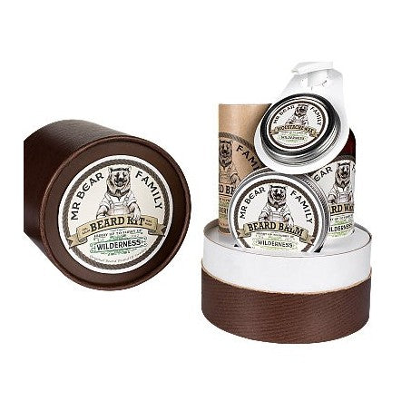 Mr Bear Family - Beard Gift Set Wilderness - mike-barbershop