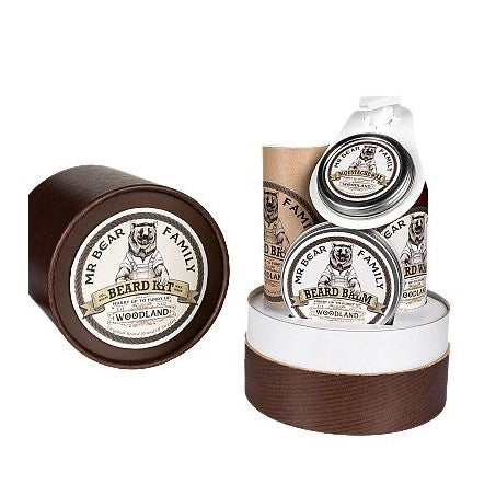 Mr Bear Family - Beard Gift Set Woodland - mike-barbershop