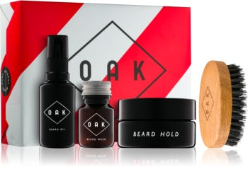 Oak Beard Box - Luxury Set - mike-barbershop