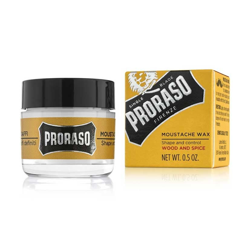 Proraso - Cera per Baffi - Wood and Spice - mike-barbershop
