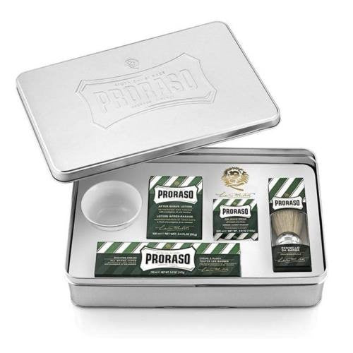Proraso - Classic Shaving Set Metal Kit Rasatura - mike-barbershop