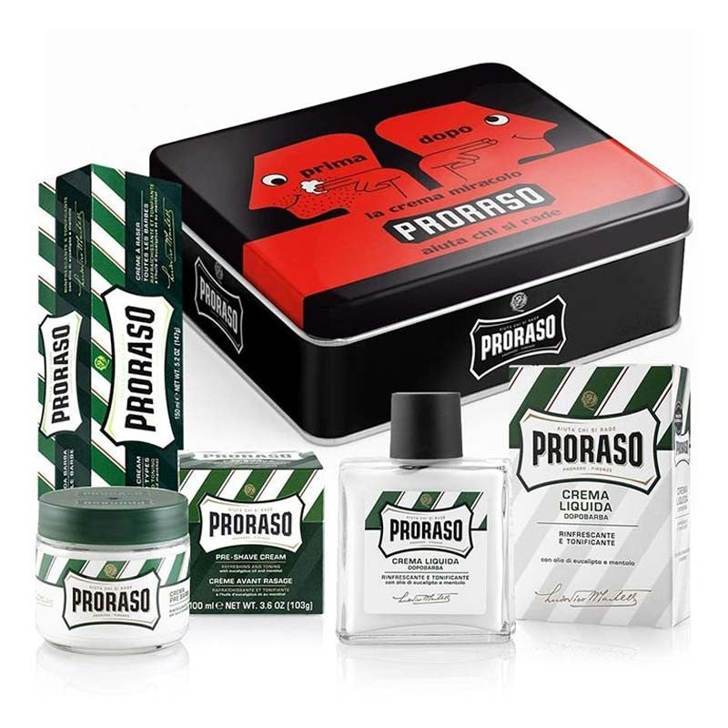 Proraso - Vintage Selection Prima&Dopo Kit Rasatura - mike-barbershop