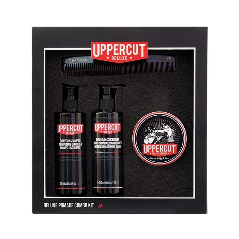 Uppercut Deluxe - Pomade Combo Kit - mike-barbershop