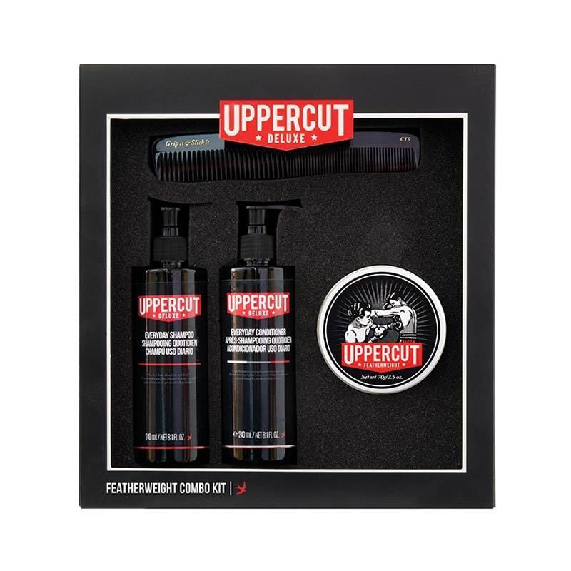 Uppercut Deluxe - Featherweight Combo Kit - mike-barbershop