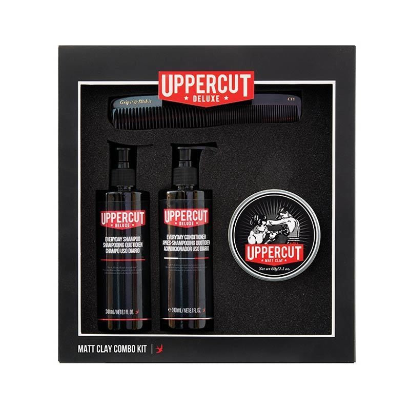 Uppercut Deluxe - Matt Clay Combo Kit - mike-barbershop