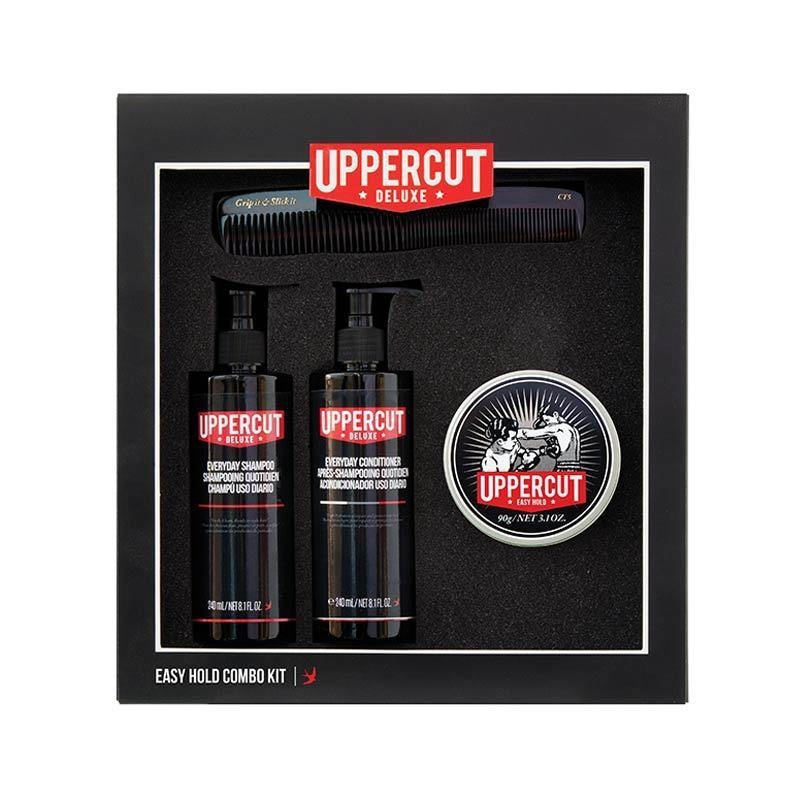 Uppercut Deluxe - Easy Hold Combo Kit - mike-barbershop