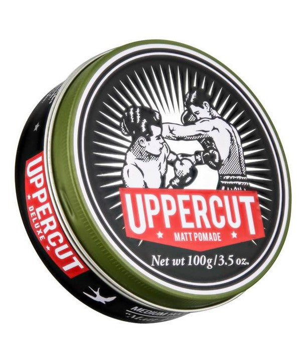 Uppercut Deluxe Matt Pomade - mike-barbershop