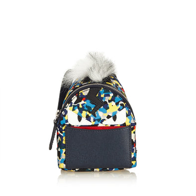 Fendi Micro Monster Backpack Bag Charm