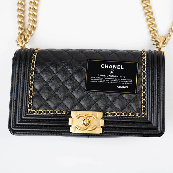 Chanel Medium Jacket Boy Bag
