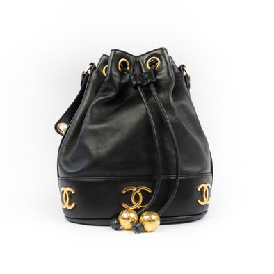 Chanel Vintage CC Bucket Bag
