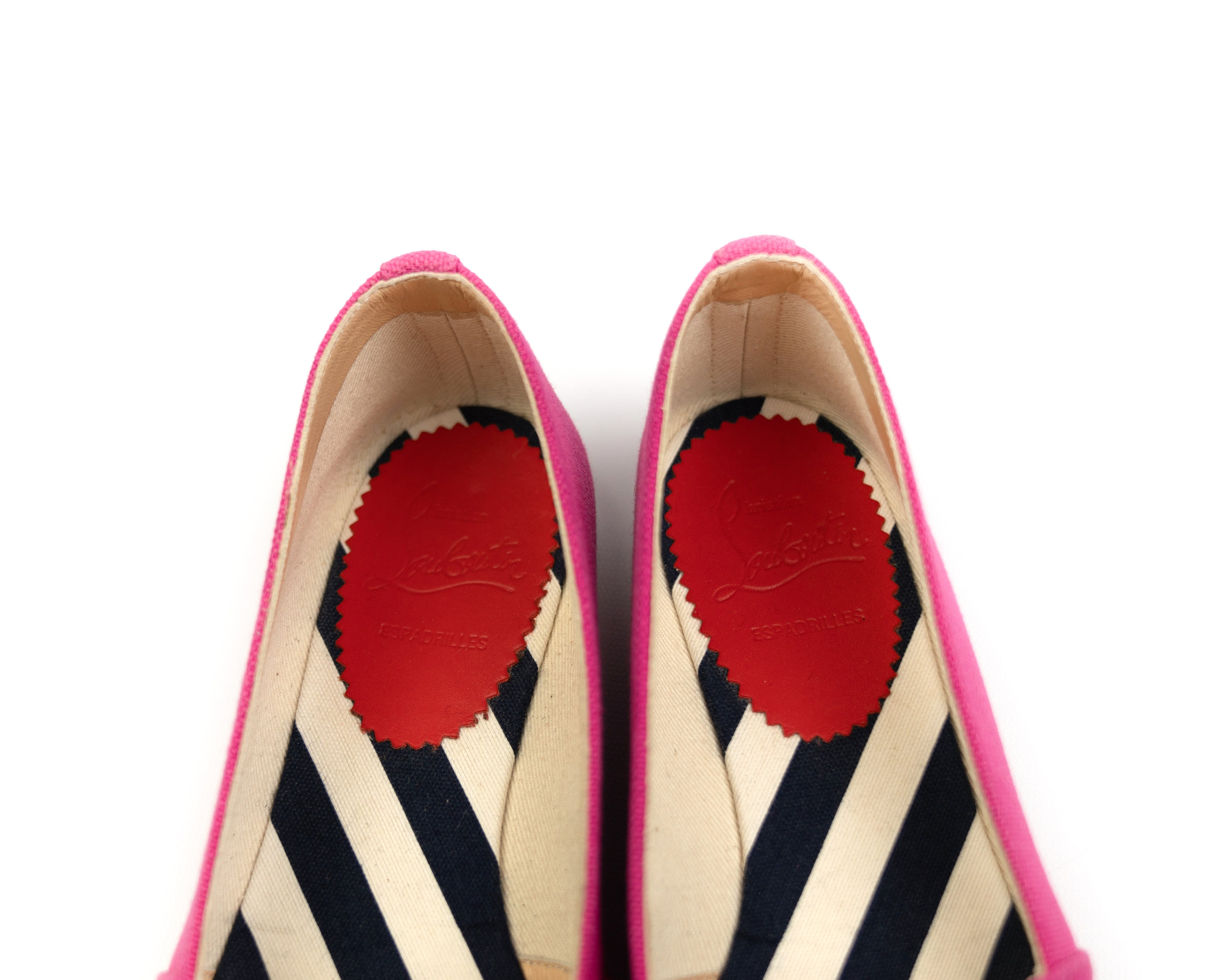 bd1b8d5f4460 Christian Louboutin Galia Espadrille Flats – Simply Chic Consignment