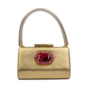 Dolce & Gabbana Gold Evening Bag