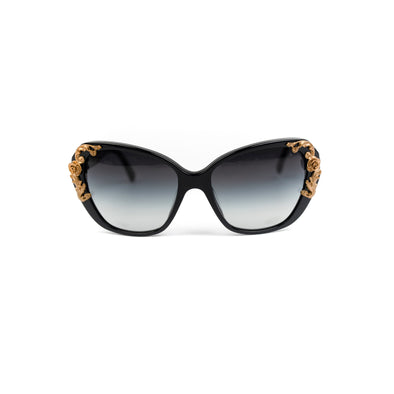 Dolce & Gabbana Flower-Embellished Sunglasses