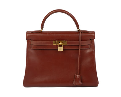 Hermes Vintage Kelly Retourne 32 Bag