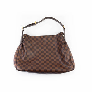 Louis Vuitton Damier Ebene Reggia Hobo Bag