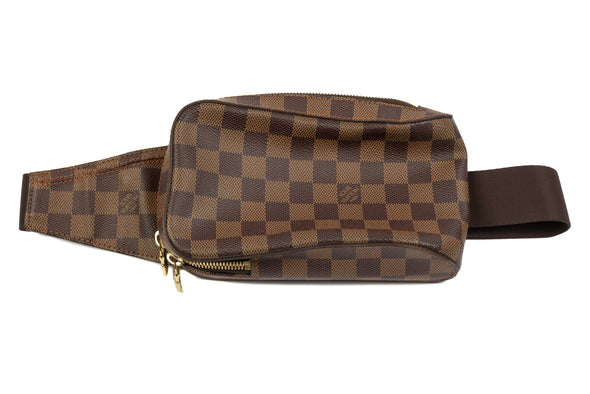 Louis Vuitton Damier Ebene Géronimos Waist Bag