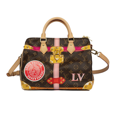 Louis Vuitton Speedy Bandoulière 30 Summer Trunk Limited Edition