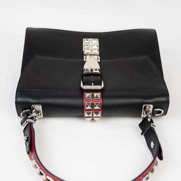 Prada Elektra Top Handle Shoulder Bag