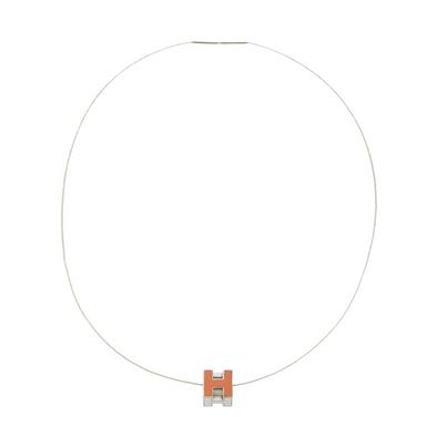 Hermes Cage d'H Necklace