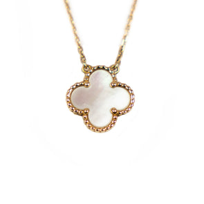 Van Cleef & Arpels Mother of Pearls Vintage Alhambra Necklace
