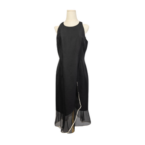 Valentino Black Silk Dress