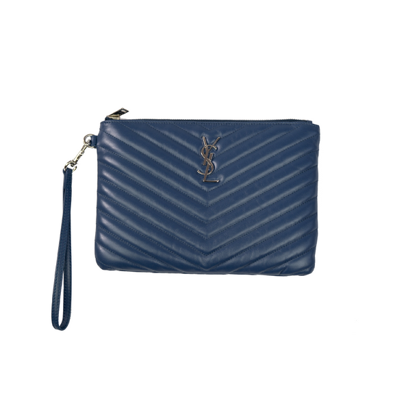 Saint Laurent Chevron Pouch