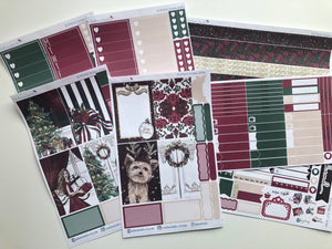 Perfect Christmas BIG Happy Planner Sticker Kit
