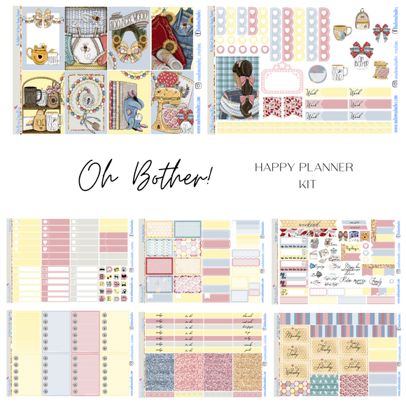 Oh Bother!  Happy Planner Classic